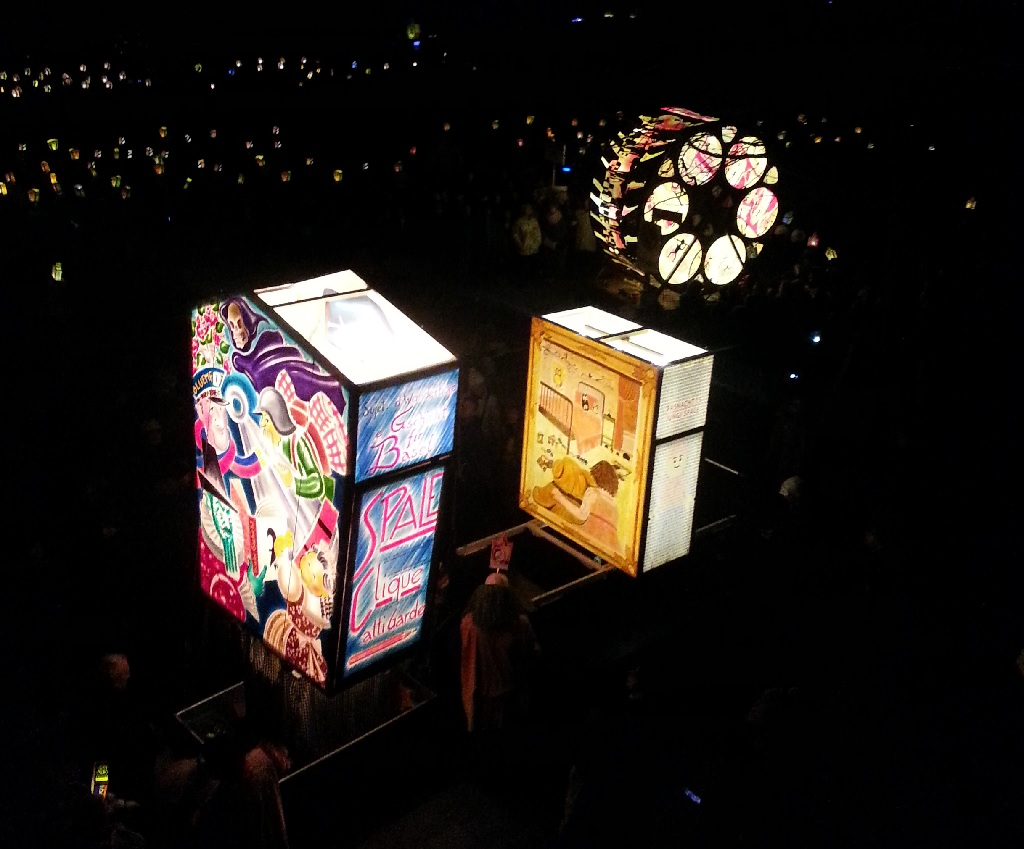 Carnevale di Basilea: spettacolo di luce