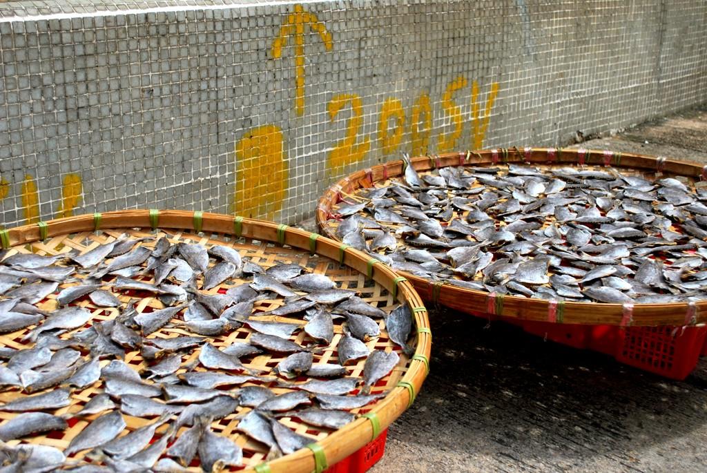pesce essiccato Hong Kong
