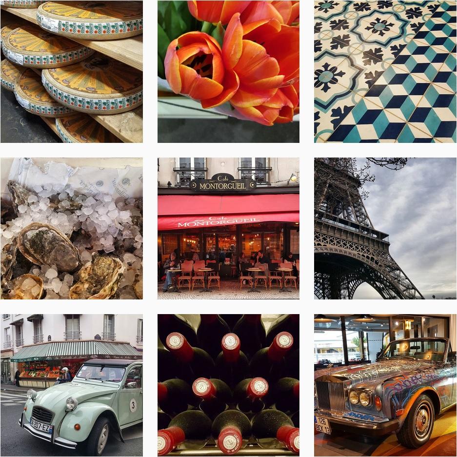 mosaico Instagram