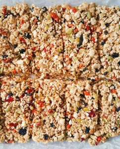 barrette frutta cereali