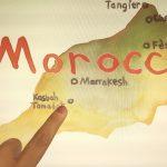 marocco map