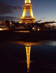 Tour Eiffel dal ristorante Les Ombres