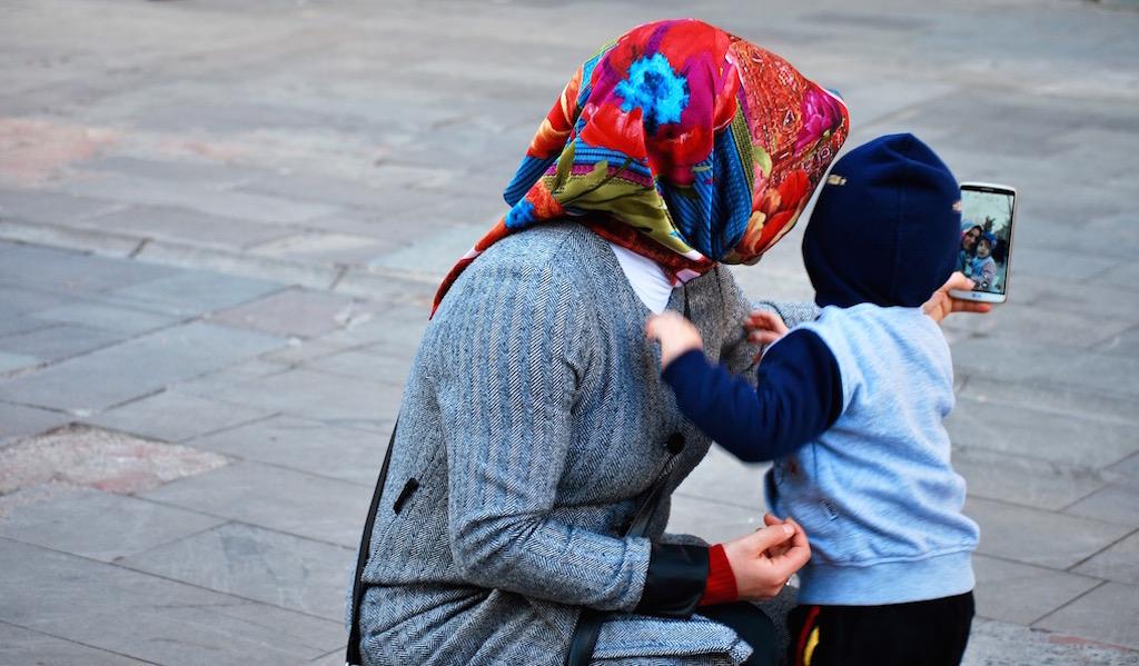 Un selfie a Istanbul: la storia in una foto